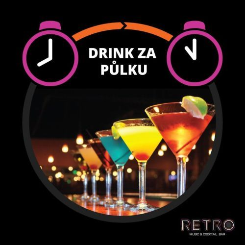 Happy Hours v Retro Cocktail Baru